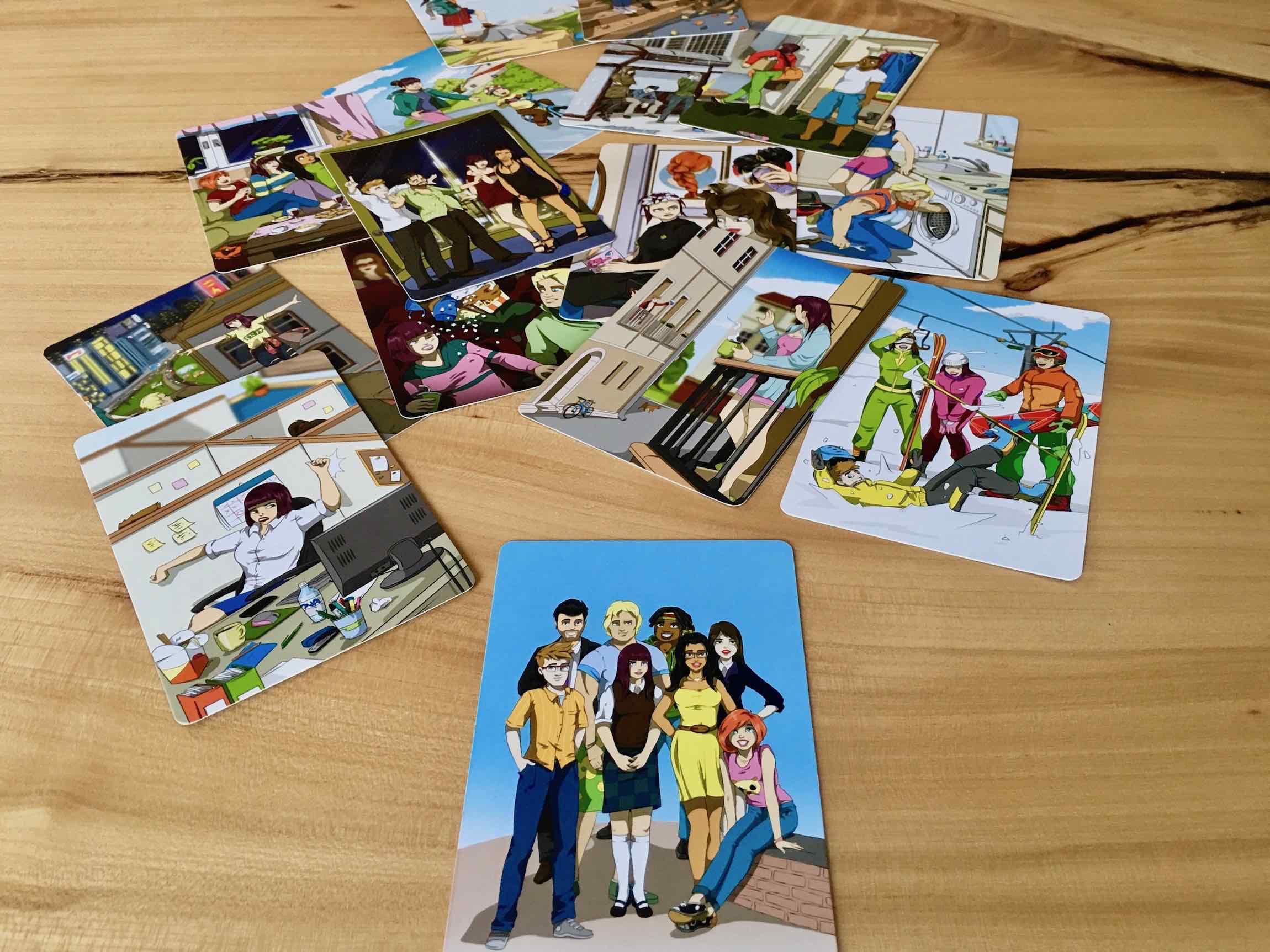 StoryBits kolorowe karty