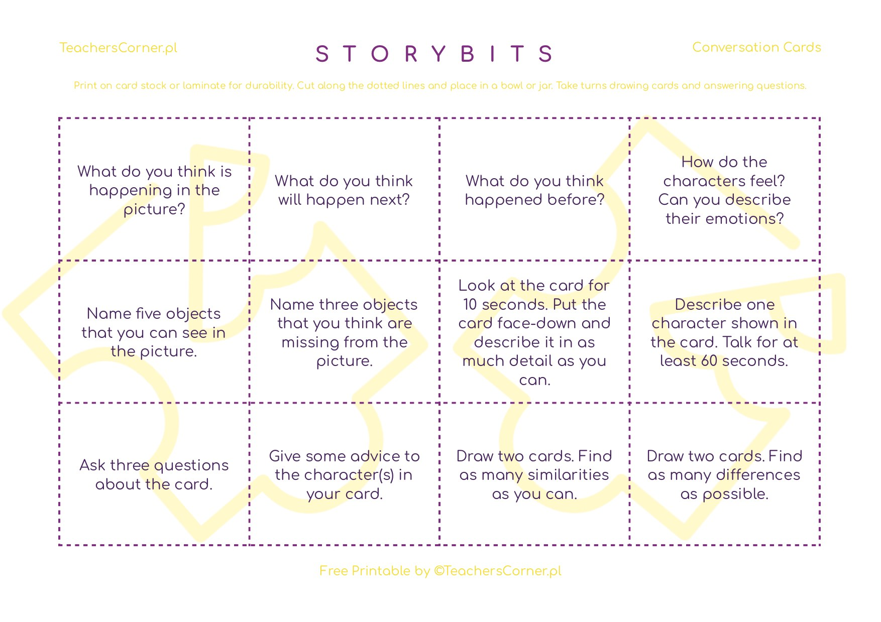 StoryBits Conversation Cards