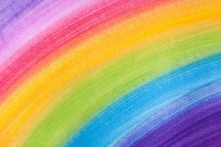 Wszystkie kolory tęczy