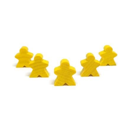 Żółty pionek ludzik