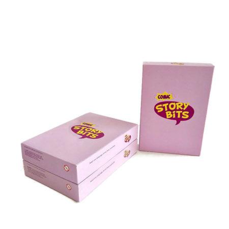 Zestaw trzech kompletów kart StoryBits Comic