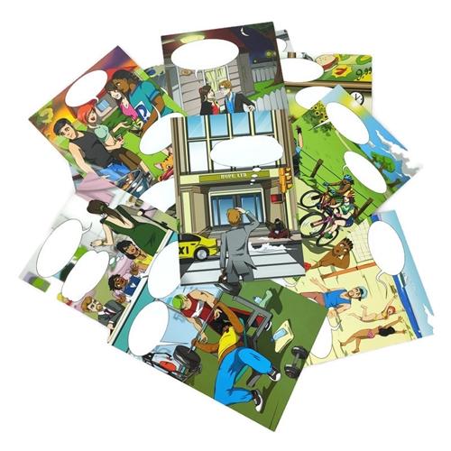 Karty StoryBits Comic