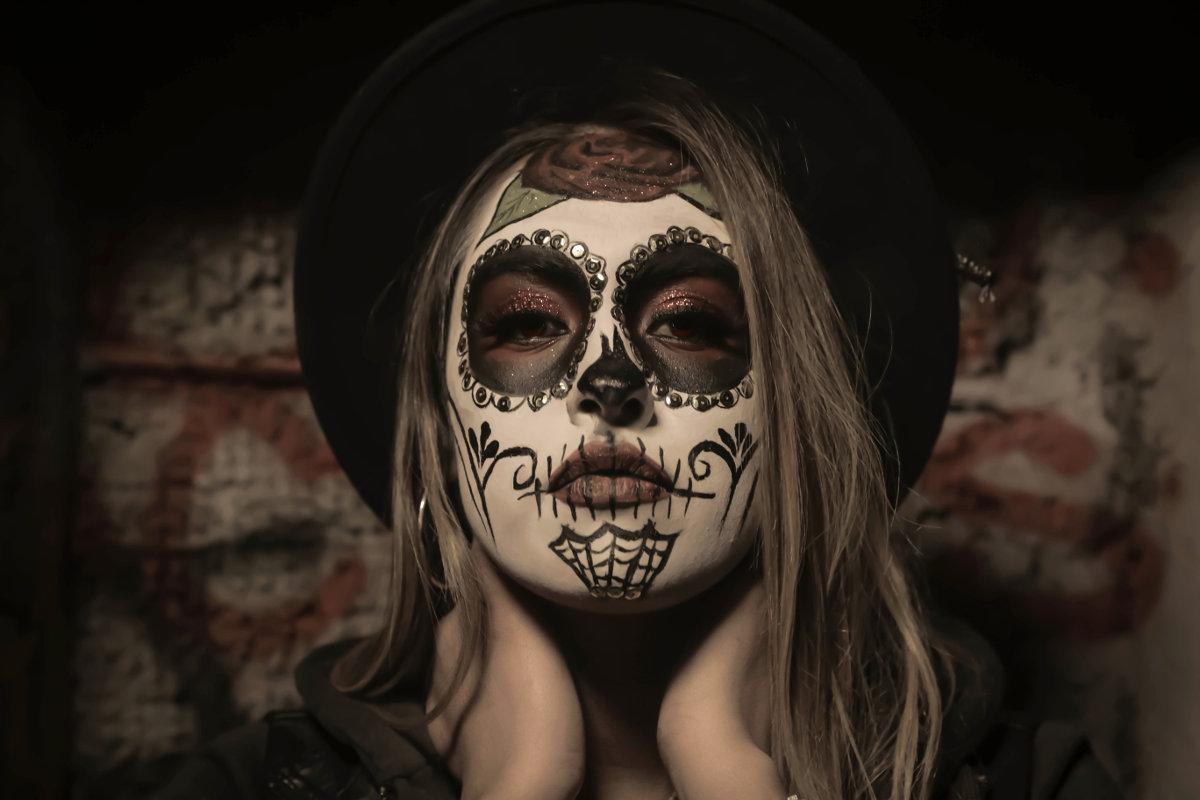 Halloween dziewczyna