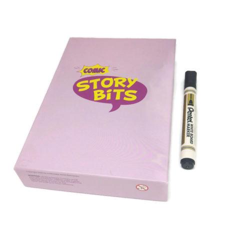 StoryBits Comic z markerem suchościeralnym