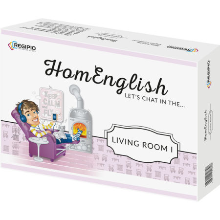 HomEnglish Let's chat in the living room I