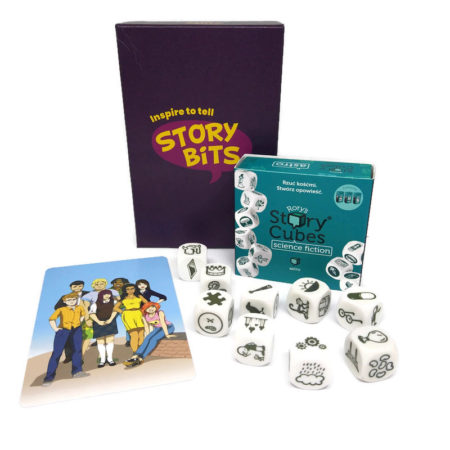 Zestaw StoryBits i Story Cubes: Science Fiction