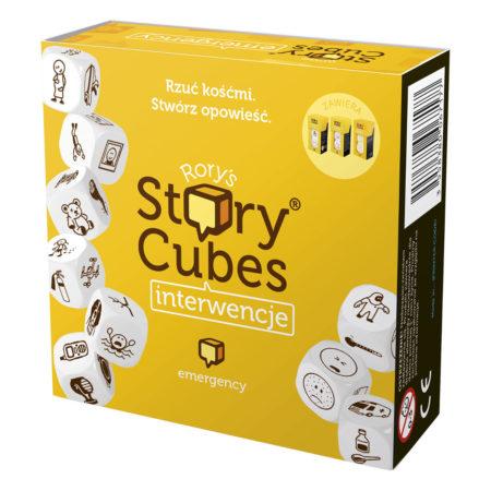 Opakowanie Story Cubes: Interwencje