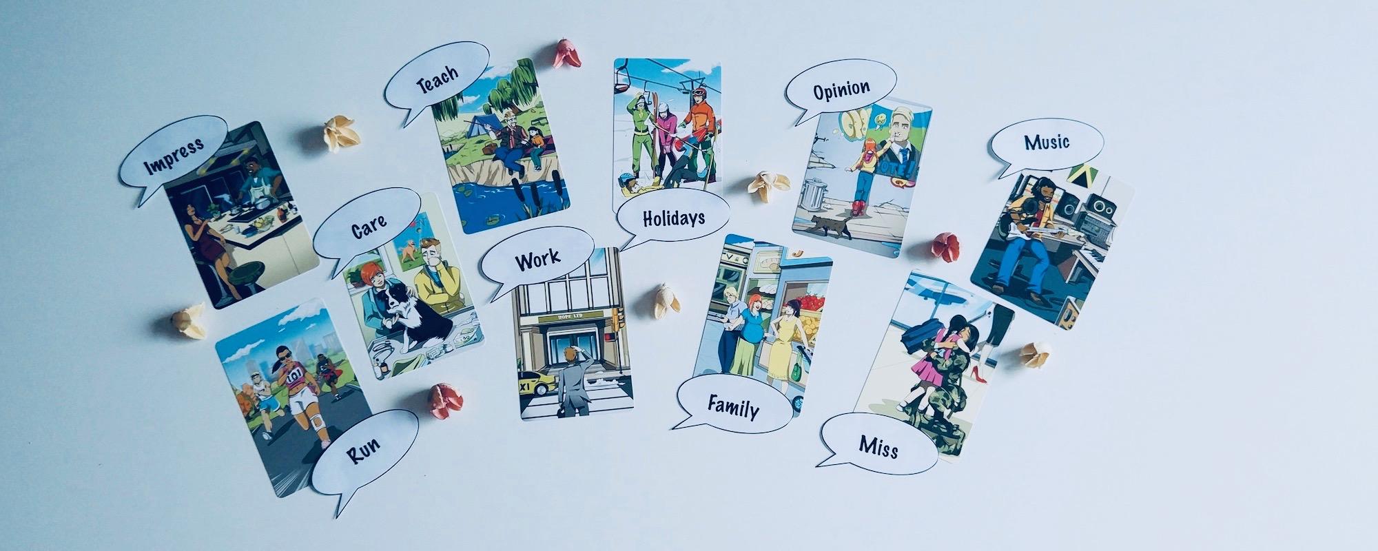 przykładowe przygotowanie do pracy; konkurs 10 słów