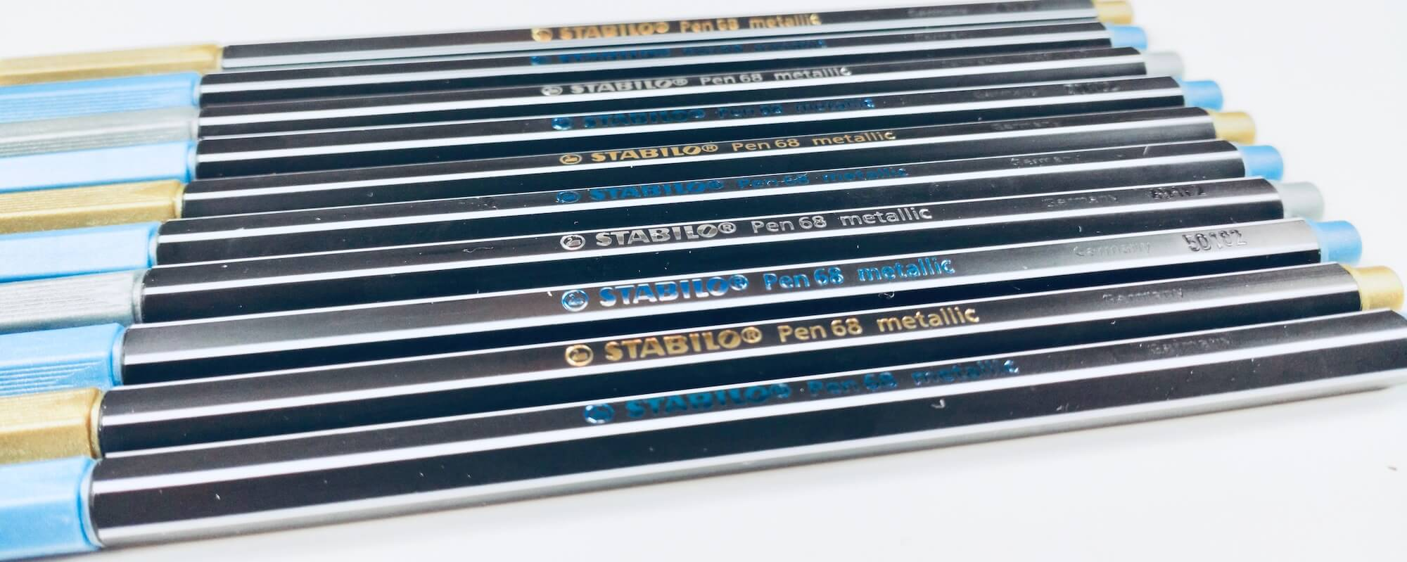 Stabilo Pen metallic