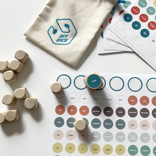 DIYdice stickers