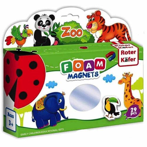 Foam magnets zoo