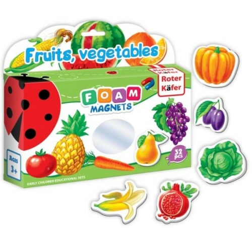 foam magnets fruits, vegetables 2