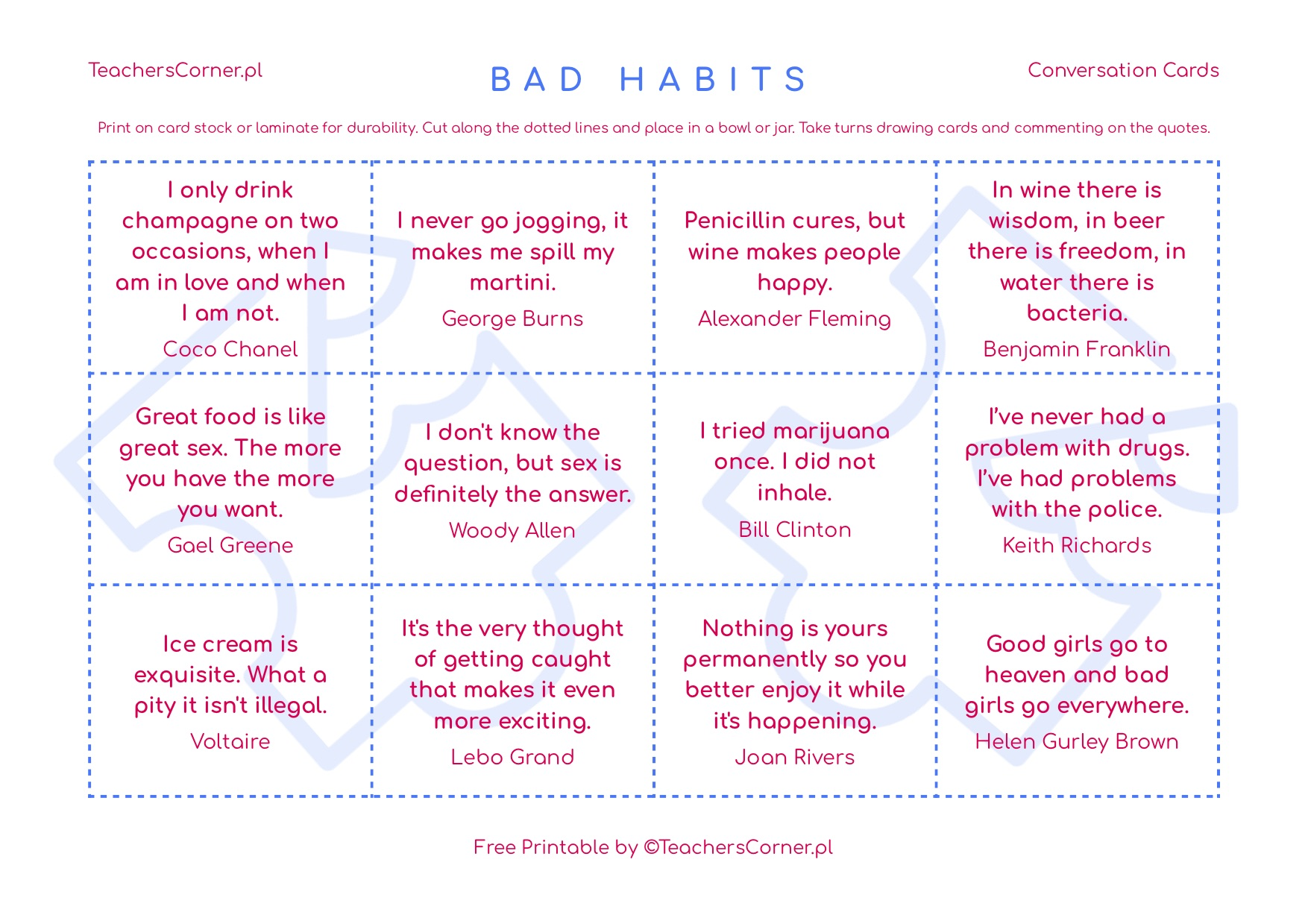 Quotes About Bad Habits
