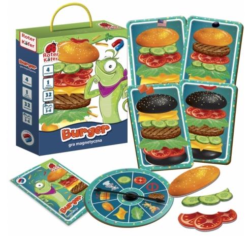 Gra magnetyczna Burger